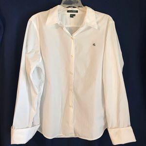 Lauren Ralph Lauren All Cotton Button Down XL